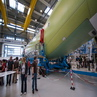 Airbus factory in Bremen A400-M assembly hall
